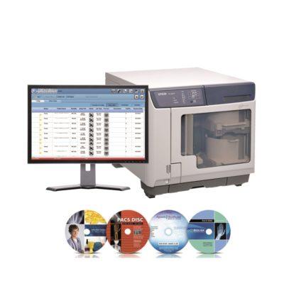 MiPublisher - Ρομποτικο συστημα εγγραφης ιατρικων σε CD/DVD